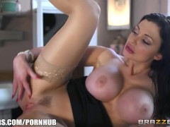 Aletta Ocean fucks in a coffee shop - Brazzers